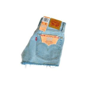 LEVIS 501- HIGH WAISTED SHORTS